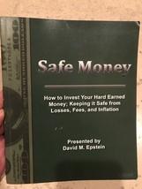 Safe Money Book By David Epstein Investing Stocks Bonds Retirement Strategy - $19.95