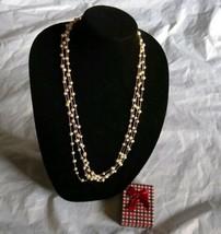 "Fashion Jewelry Women's 14K Gold Over Silver Pearl Tone Neck Cultured 18"" - $46.75"