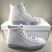 Converse CTAS Modern Hi Suede Shoes SZ 10.5 Mens Chuck Taylor Sneakers Grey - $74.76