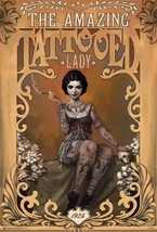 The Amazing Tattooed Lady Poster - $5.90