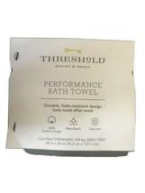 "Threshold Performance Blue Hand Towel- Navy Blue-  30""x54"" image 2"