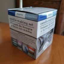 Candle Making Kit, 3oz Set, Glass Holder, 3 Scents Sea Spray Blueberry Magnolia image 6