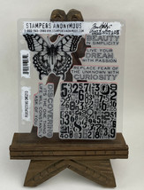 Tim Holtz Cling Rubber Stamps PERSPECTIVE CMS213 - $19.75