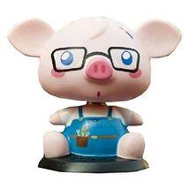 Panda Superstore [Otaku Piggy] Bobbleheads Car Ornaments/Car Decoration,4.7x3.9x
