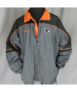 CCM Philadelphia Flyers NHL Windbreaker Men's Jacket XL Center Ice Authe... - $49.49