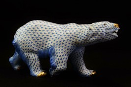 Herend Porcelain Polar Bear, First Edition Series, SVHB...5299-000 - $1,395.00