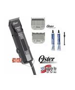 Oster PRO TURBO 111 Heavy-Duty CLIPPER KIT #1 & 000 BLADE Hair Stylist B... - $209.45