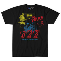 The Police-Ghost In The Machine-In Concert-X-Large Black Lightweight T-s... - $20.31