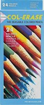 Prismacolor Col-Erase 24 Colored Pencils - Erasable Colored Pencils - $24.95