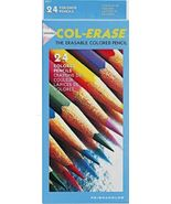 Prismacolor Col-Erase 24 Colored Pencils - Eras... - $24.95