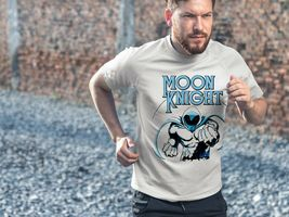 Moon Knight Dri Fit graphic T-shirt moisture wicking retro superhero  SPF tee image 3