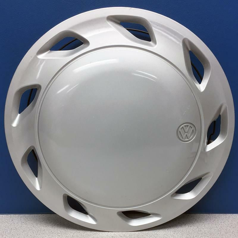 "ONE 1991-1993 Volkswagen Fox # 61520 13"" 9 Slot Hubcap / Wheel Cover USED - $20.00"