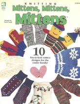 Mittens, Mittens, Mittens Ho Wb Knitting PATTERN/INSTRUCTIONS Booklet 10 Designs - $2.22