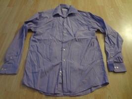 Men's Calvin Klein Reg Fit Sz 16/ 34-35 L/S Shirt Light Purple - $14.95