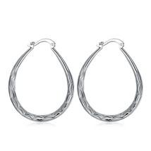 Fashion silver Plated sty Dangle Earrings - $9.79