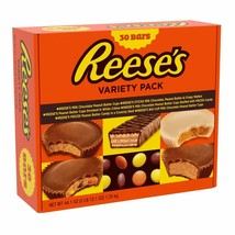 REESE'S Bulk Halloween Candy- King Size Chocolate Candy Bar Variety-pack... - $36.62