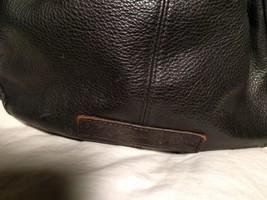 Fossil Genuine Leather Black Shoulder Purse 75082  ZB8023 VINTAGE  image 2