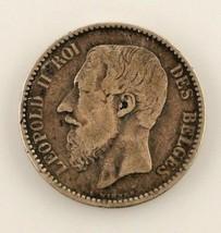 1886 Bélgica Franco (MB) Muy Fina Estado - $29.69