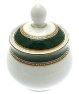 Royal Doulton Green Marble covered Sugar Bowl - $63.69