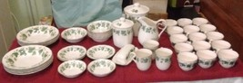"42PC Nikko Fine Chinaware Set ""Casual Life"" Series #932 In Excellent Condition - $522.50"