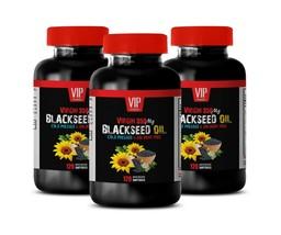 cholesterol supplement - BLACKSEED OIL - digestion food 3BOTTLE - $56.06