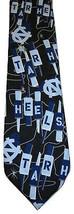 University of North Carolina 100% SILK Mens Necktie Tie Ralph Marlin Tar Heels - $9.89