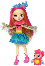 Enchantimals Peeki Parrot Doll & Sheeny - $19.71