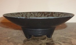 Vintage Asian Footed Art Pottery Bowl with Stamp - $499.00