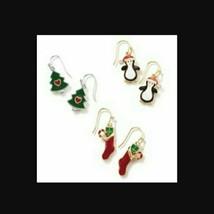 Christmas Holiday Dangle Earrings - $10.00