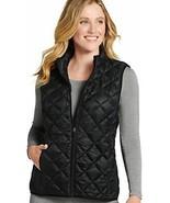 Jockey Women's Tops Quilted Puffer Vest, Black ,M - $34.64