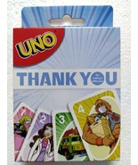 Mattel Games UNO THANK YOU HEROES Card Game Limited Edition Card Game - $14.99