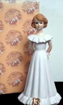 Vintage 1982 Growing Up Girls Figurine Age 13 Brunette Figurine E-9537 M... - $22.00