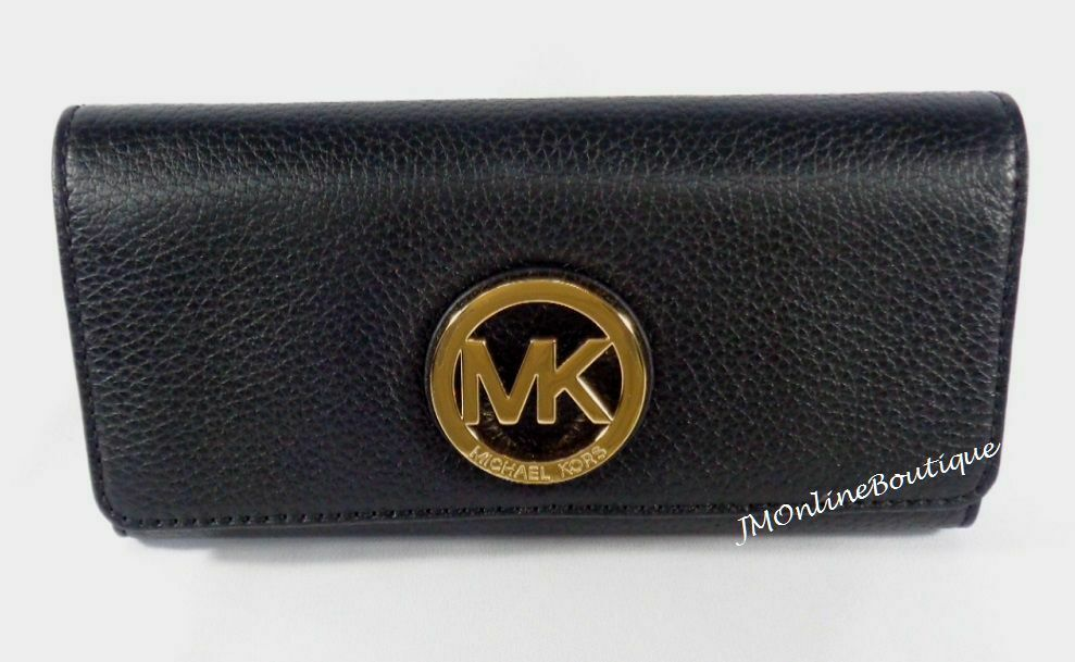 Primary image for Michael Kors Womens Fulton Carryall Leather Wallet 35F0GTE1L
