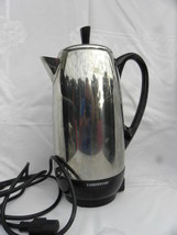 Vintage Farberware 12-Cup Electric Percolating Coffee Pot - $22.99