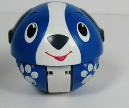 Bright Starts Giggables Having a Ball Wobble & Roll Blue Puppy With Sound - $15.83