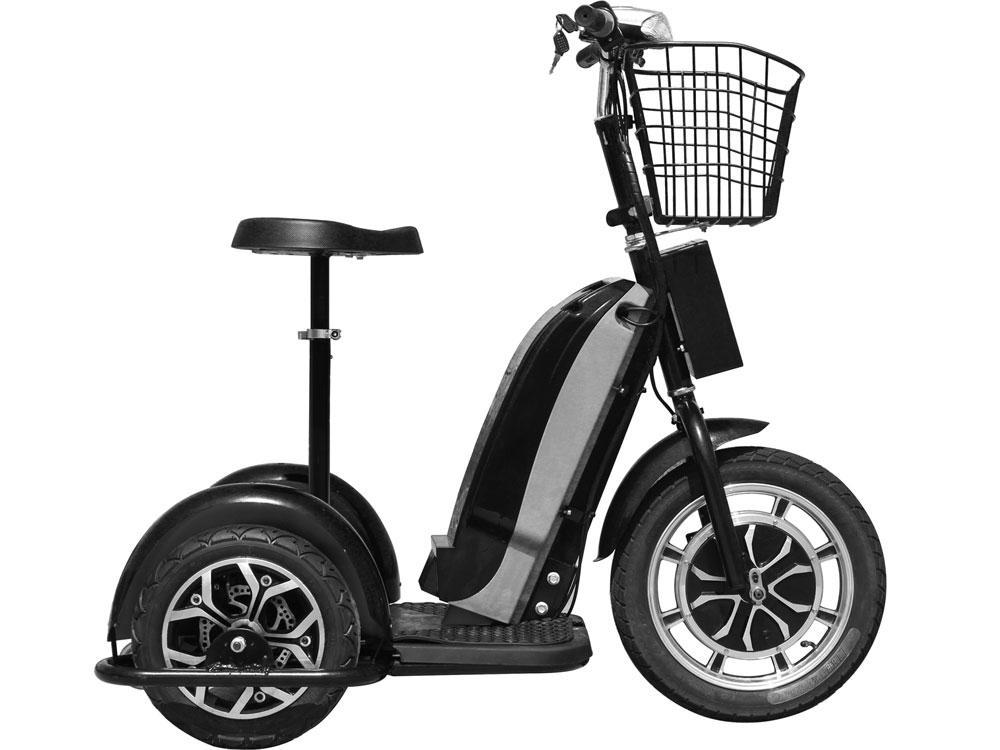 MotoTec Electric Trike 48v 800w Personal Transporter 3 Wheel Electric Scooter