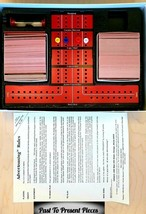 Vintage 1988 Adverteasing Board Game Complete Excellent Condition FAST Shipping - $24.02