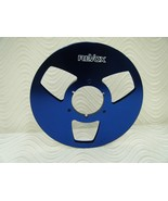 "Blue Revox  NAB Aluminum take-up Metal Reel 10.5"" for 1/4"" tape  Made in... - $65.29"