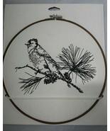 "Threshold Target Bird & Pine Embroidery Hoop Wall Decor White 11"" - $9.89"
