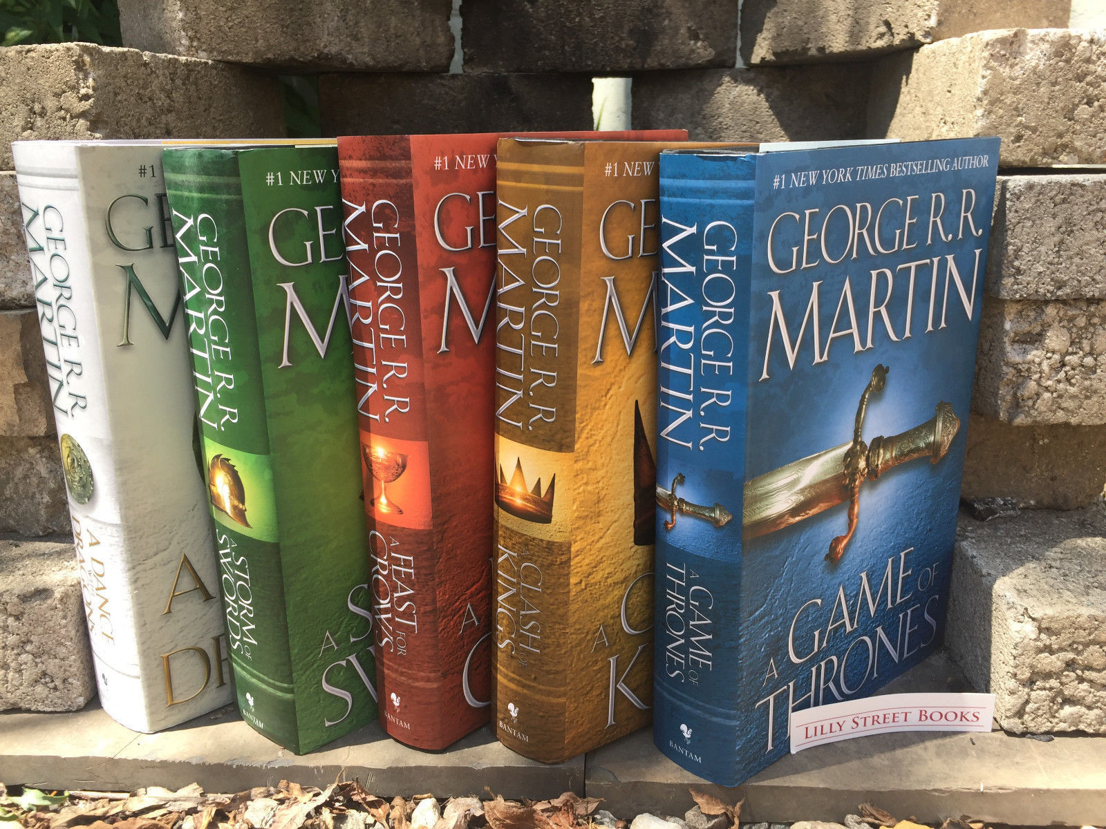 Song of Ice and Fire Game of Thrones Hardcover Set George R. R. Martin Set NEW for sale  USA