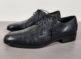 Cole Haan 'Air Kilgore' Apron Toe Derby Black Leather Mens Size 9.5 M - $29.99