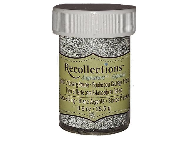 Recollections Sparkle Embossing Powder, Opaque Bling #361606