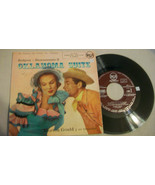 RODGERS - HAMMERSTEIN, OKLAHOMA SUITE, RCA 45 RPM SPANISH IMPORT RECORD ... - $14.85