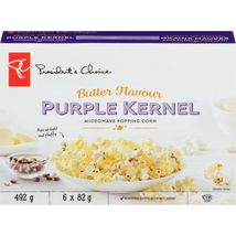 President's Choice Purple Kernel Extra Buttered Microwave Popping Corn 4... - $59.99