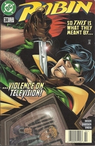 (CB-8) 1997 DC Comic Book: Robin #38 - $2.50