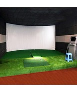 300*200CM Golf Ball Simulator Impact Display Projection Screen indoor Wh... - $157.99
