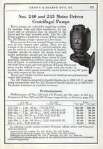Motor Driven Centrifugal Pumps Brown & Sharpe 1941 Ad Machine Tools Mach... - $14.99