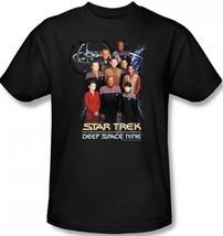Star Trek: Deep Space Nine Seventh Season Crew and Station T-Shirt, NEW ... - $16.44