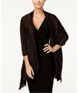 New INC International Concepts Tiny Pleated Wrap Gold Lurex Womens Scarf... - $7.79