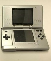 Nintendo DS NTR-001 Handheld Console - Untested -, Silver - $14.85